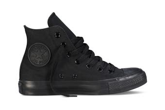 Converse Chuck Taylor All Star Hi (Black Mono, US Mens 6.5 / US Womens 8.5)