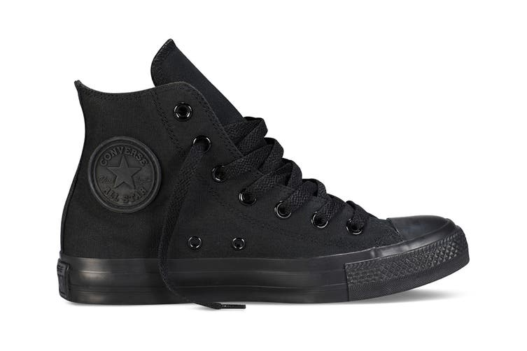 Converse Chuck Taylor All Star Hi (Black Mono, US Mens 8.5 / US Womens 10.5)
