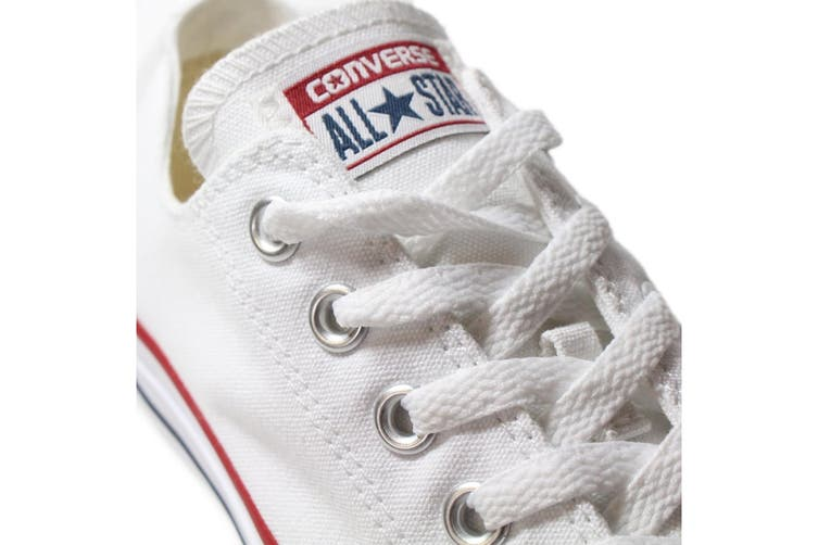 Converse Chuck Taylor All Star Ox Lo (Optical White, US Mens 9.5 / US Womens 11.5)