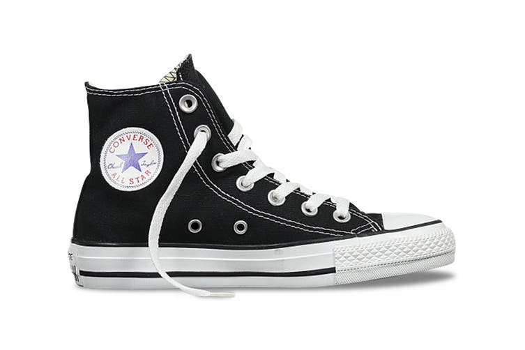 Converse Chuck Taylor All Star Hi (Black, US Mens 9.5 / US Womens 11.5)