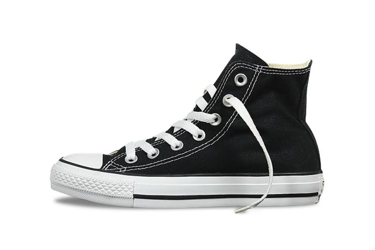 Converse Chuck Taylor All Star Hi (Black, US Mens 7.5 / US Womens 9.5)