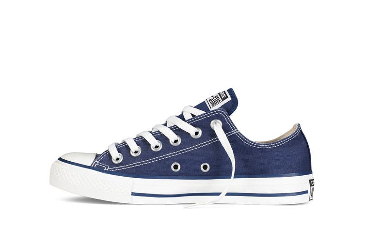 Converse Chuck Taylor All Star Ox Lo (Navy Blue, US Mens 9.5 / US Womens 11.5)