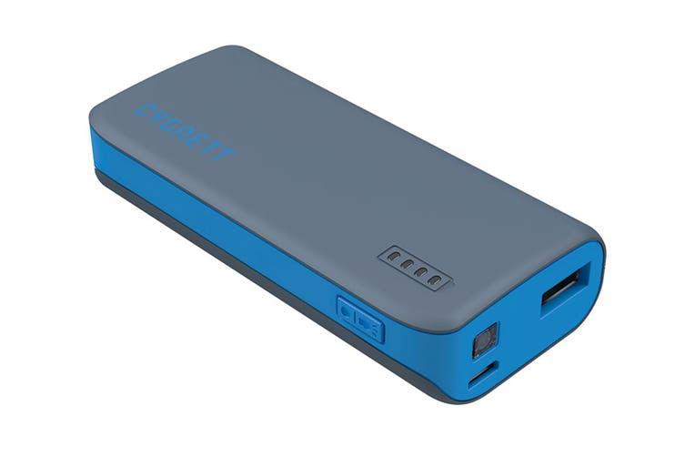 Cygnett ChargeUp Sport 4400mAh Power Bank - Blue (CY1420PBCUS)