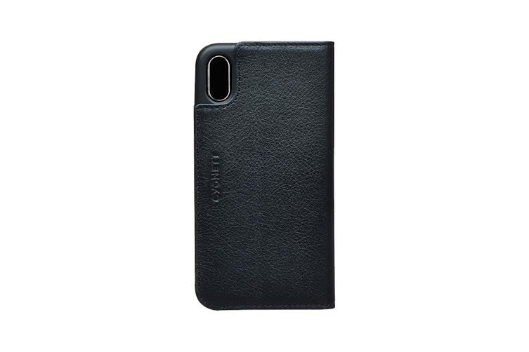 Cygnett CitiWallet Leather Case  for iPhone X - Black