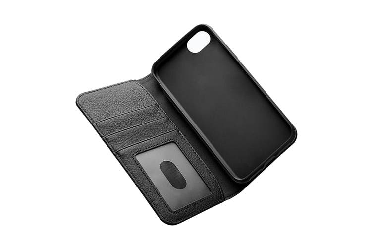 Cygnett CitiWallet Leather Case for iPhone 8 Plus - Black