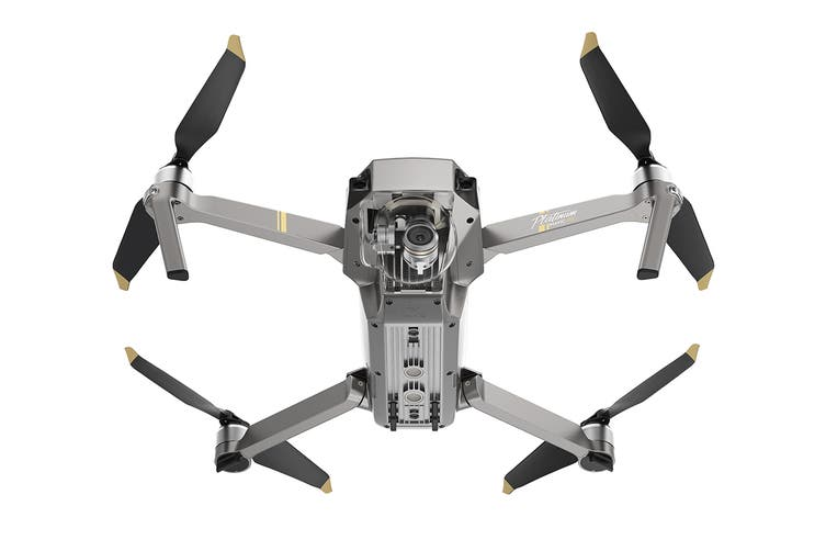 DJI Mavic Pro Platinum Drone - Fly More Combo (Refurbished)