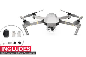 DJI Mavic Pro Platinum Drone - Fly More Combo