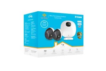 D-Link Omna Wire-Free Indoor & Outdoor Camera Kit (DCS-2802KT)