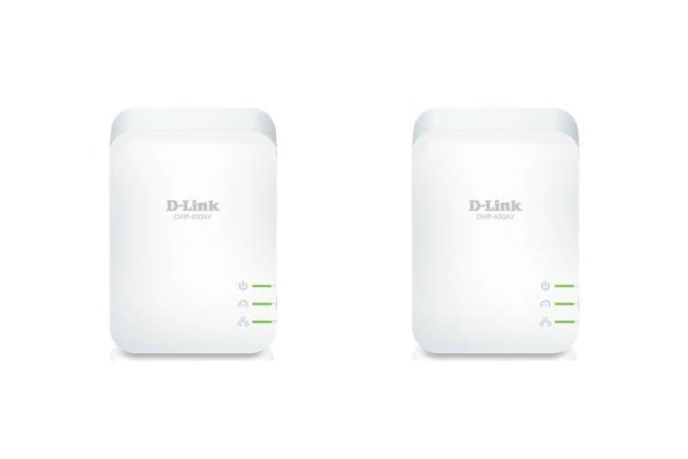D-Link PowerLine AV2 1000 Gigabit Starter Kit (DHP-601AV)