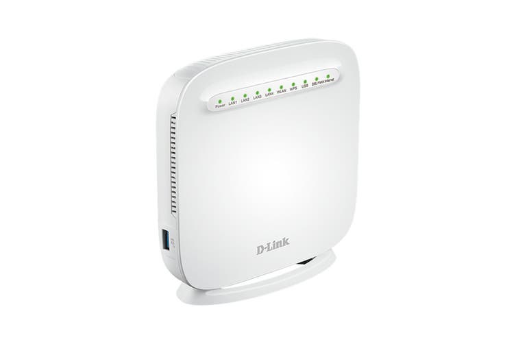 D-Link Wireless N300 ADSL2+/VDSL2 Modem Router (DSL-G225)