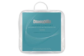 Dunlopillo Supima Comfort Waterproof Mattress Protector (Single)