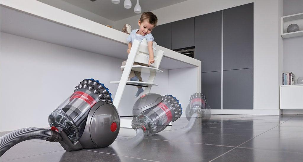 Dyson Big Ball Extra Barrel Vacuum Self-Rights