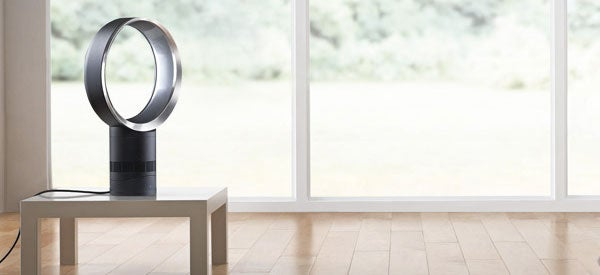 Dyson AM06 Desk Fan 300mm (White/Silver)