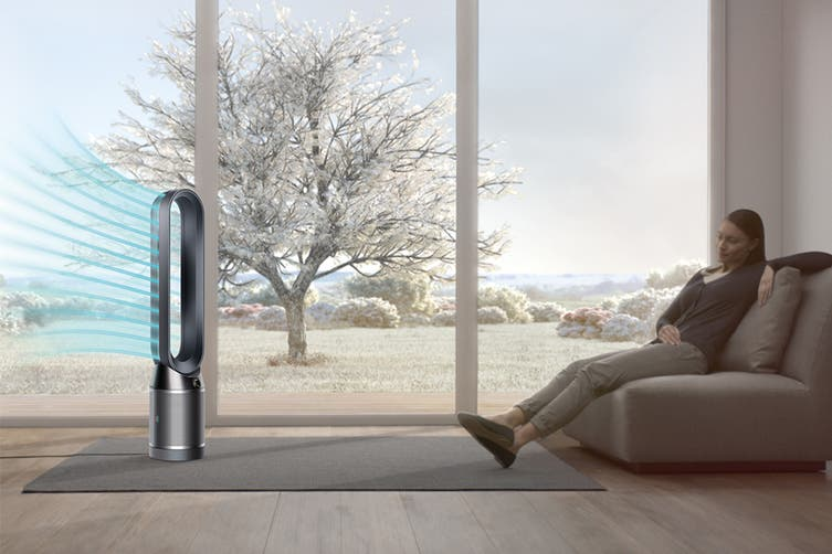 Dyson TP04 Pure Cool Link Purifying Tower Fan (Black/Nickel)