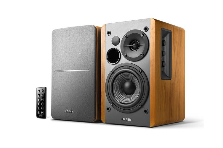 Edifier R1280DB - 2.0 Lifestyle Bookshelf Bluetooth Studio Speakers - Brown (EF-R1280DB-BR)
