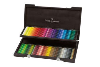 Faber-Castell Albrecht Durer Watercolour Pencils - 120 Assorted Colours (Wood Case)