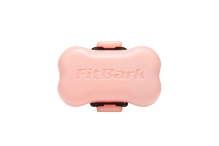 FitBark Dog Activity Monitor - Romantic Snuggler Pink