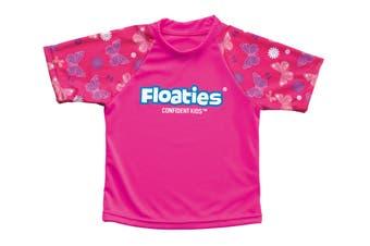 Floaties UV Rash Vest (Ages 2-4) - Butterfly Design