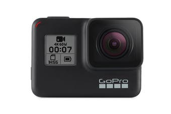 GoPro HERO7 Black 4K HyperSmooth Action Cam (GPCHDHX-701)