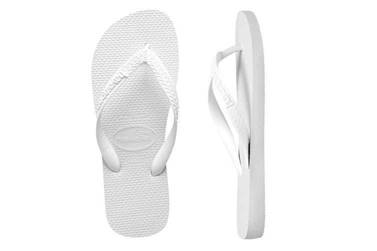 Havaianas Top Thongs (White, Brazil 33/34)
