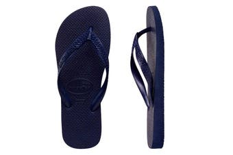 Havaianas Top Thongs (Navy Blue, Brazil 33/34)