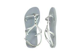 Havaianas Allure Maxi Thongs (Steel Grey)