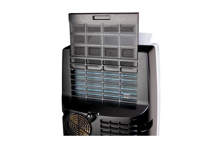 Honeywell 3.5kW 12,000 BTU Portable Air Conditioner - Black/Silver (MN12CES)