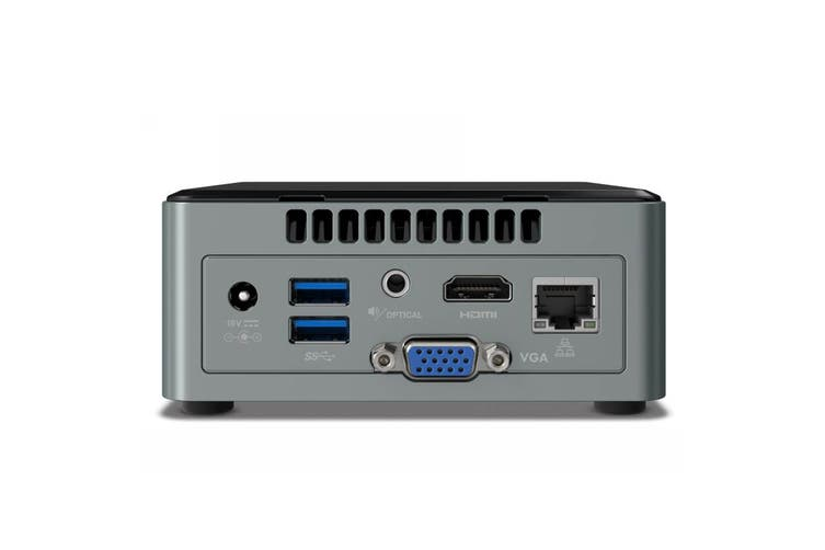 Intel NUC Mini PC Quad-Core Celeron with 2GB RAM & Windows 10 (BOXNUC6CAYSAJR)
