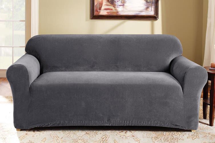 SureFit Pearson Sofa Cover 2 Seater - Slate