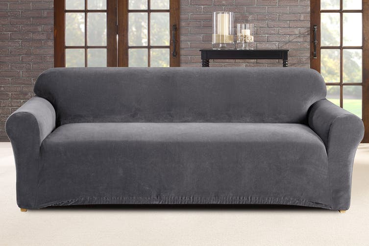 SureFit Pearson Sofa Cover 3 Seater - Slate