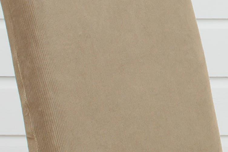 SureFit Pearson Dining Chair Cover - Dark Flax