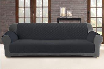 Custom Fit 3 Seater Sofa Protector - Slate