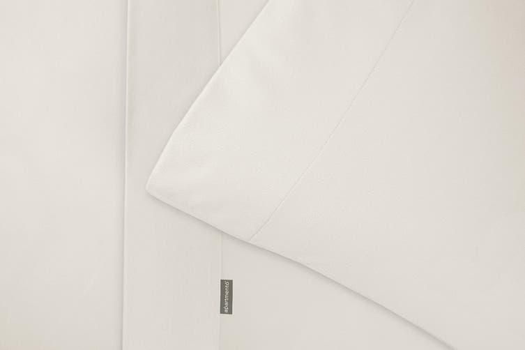Apartmento Micro Flannel Sheet Set King - Eggshell