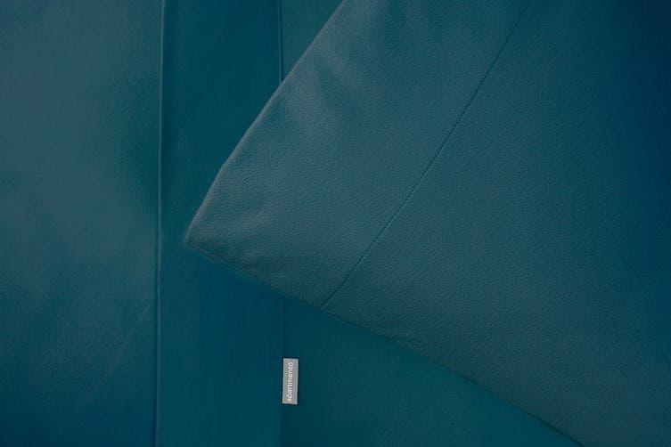 Apartmento Micro Flannel Sheet Set King - Teal