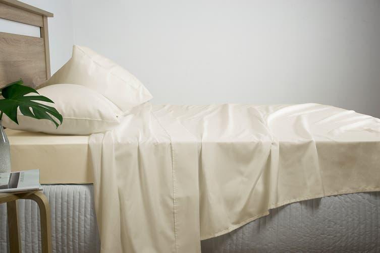 Ardor Luxury 2500TC Cotton Rich Sheet Set (Linen/King)