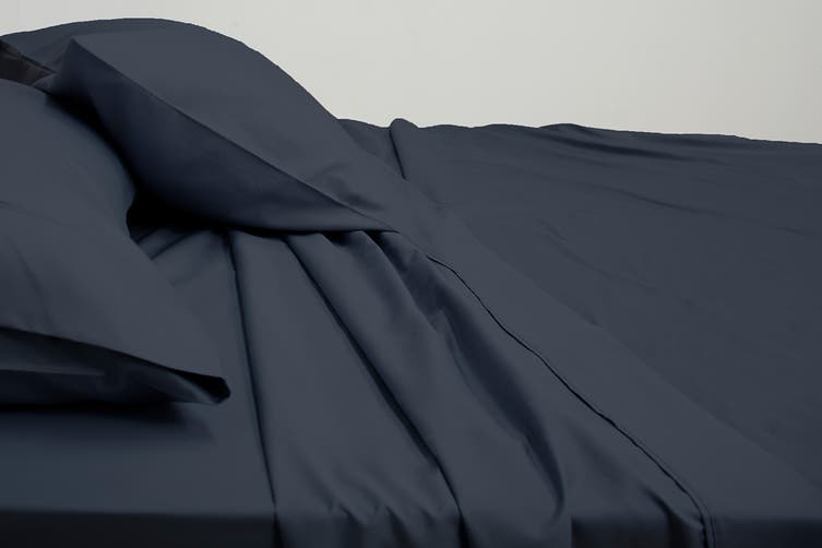 Ardor Luxury 2500TC Cotton Rich Sheet Set (Navy/King)