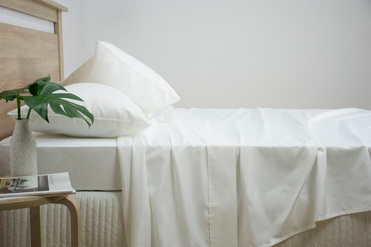 Ardor Luxury 2500TC Cotton Rich Sheet Set (White/Queen)
