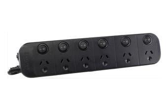 Jackson 6 Outlet Individually Switched Powerboard
