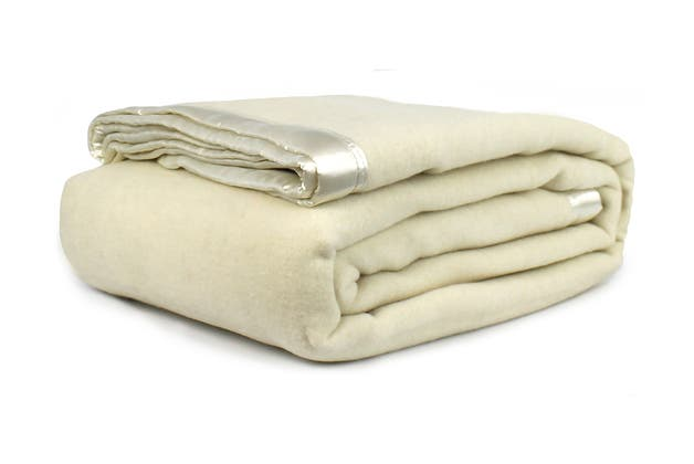 Jason Australian Wool Blanket (Natural, Single Bed/Double Bed)