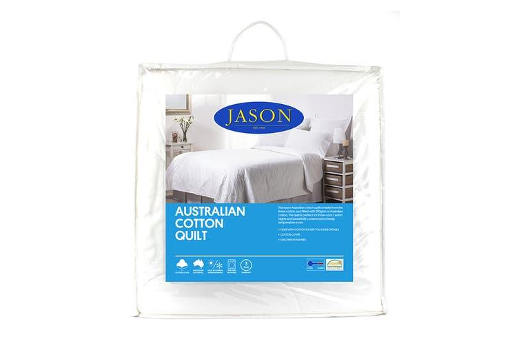 Jason 250GSM Australian Cotton Quilt (Double)