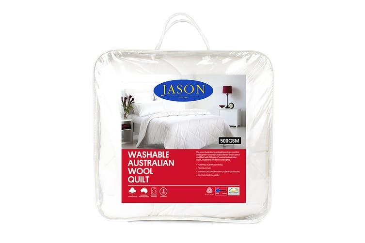 Jason 500GSM Australian Wool Quilt (King)