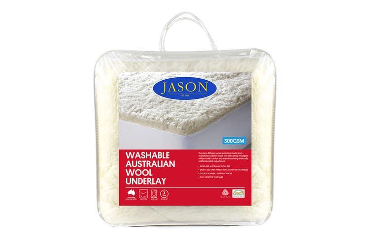 Jason 300GSM Australian Wool Underlay (Queen)