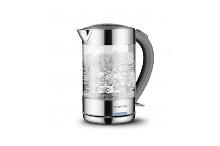 Kambrook 1.5L BPA Free Glass Kettle (KKE760CLR)