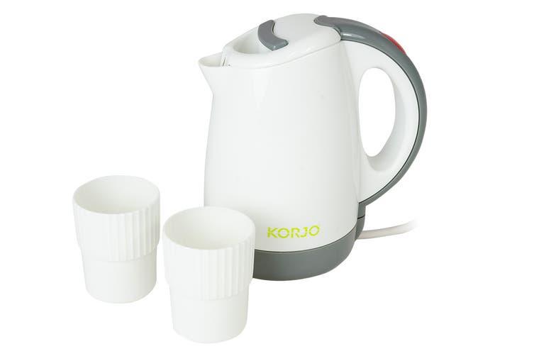 Korjo Travel Jug/Kettle with 2 Cups