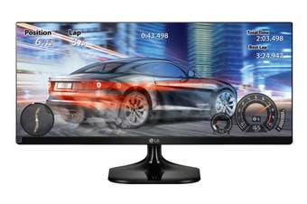 "LG 25"" 21:9 2560x1080 Full HD UltraWide IPS LED Gaming Monitor (25UM58-P)"
