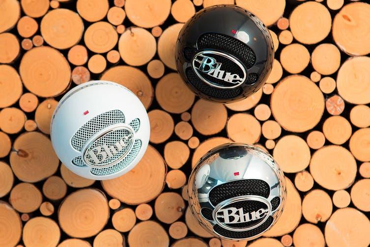 Blue Snowball Professional USB Microphone - Aluminium