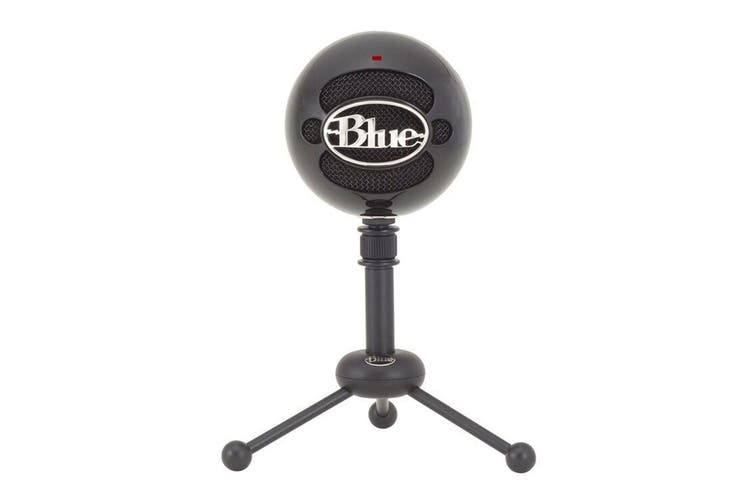 Blue Snowball Professional USB Microphone - Gloss Black