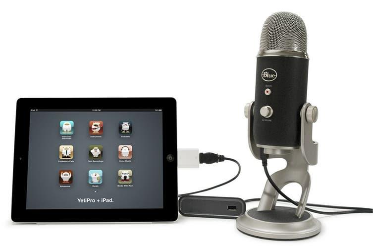 Blue Yeti Pro USB & Analog Microphone - Black