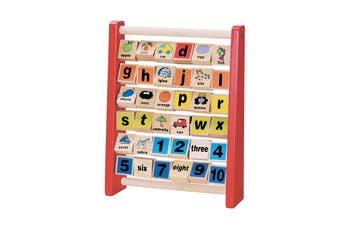 ABC-123 Abacus Alphabet