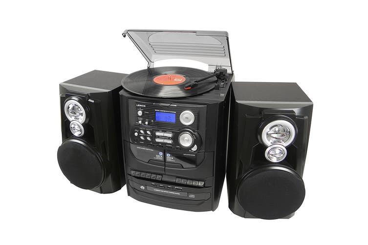 Lenoxx Mini Hi-Fi System with Turntable (CD7400N)